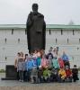 2014-2015 учебный год :: у памятника пр.Сергия Радонежского