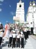 2016-2017 учебный год :: В Арзамасе на открытии памятника Сергию Страгородскому