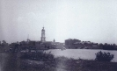 Вид на монастырь с реки. 60-е годы