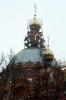 Работы во время реставрации храма Серафима Саровского