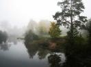 Утренний туман на реке Сатис